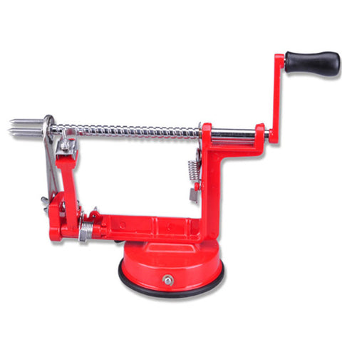 3 in 1 Peeler Corer and Slicer - Red - Go Go Kitchen Gadgets