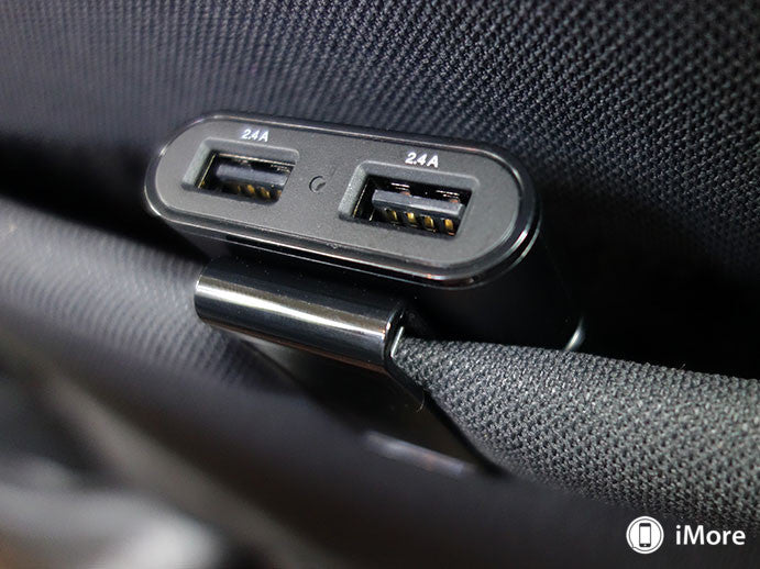 Front and Backseat USB Charger