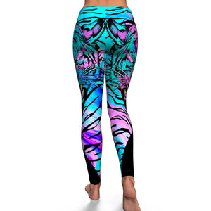 Neon Tiger Leggings