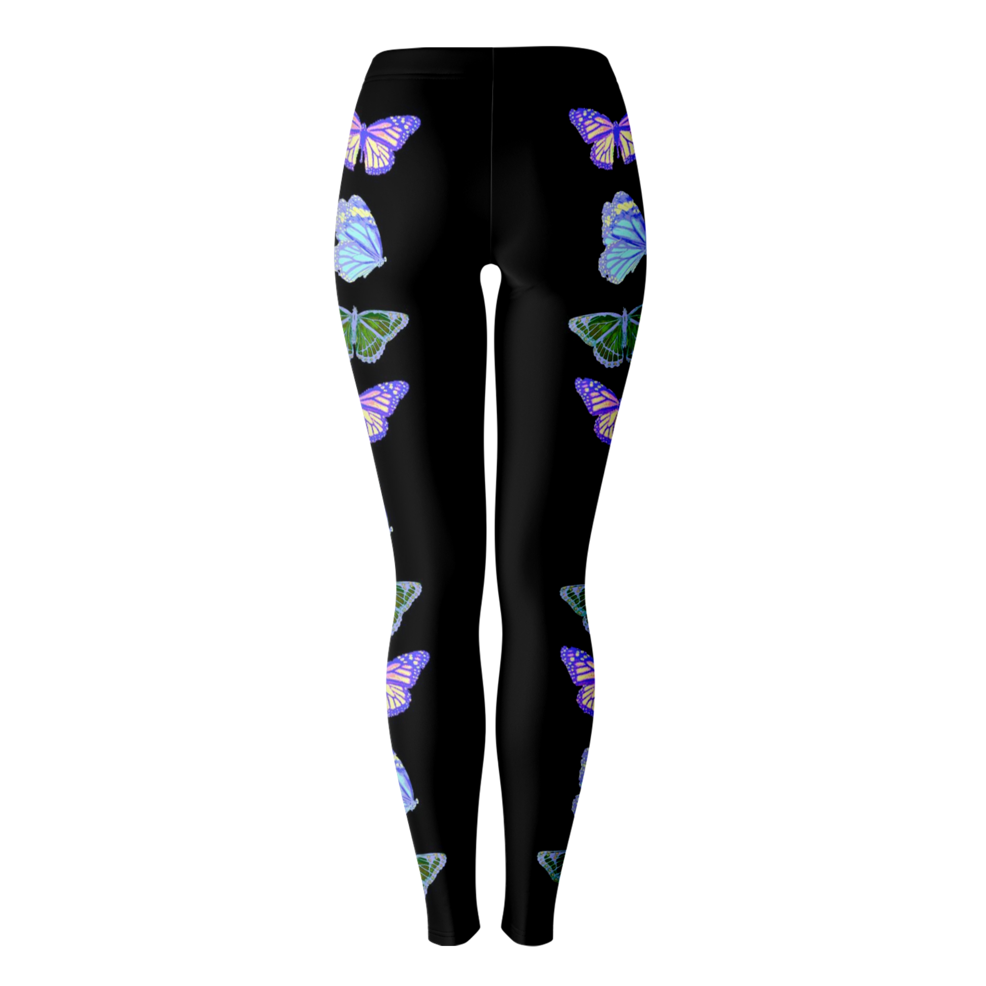 Black Butterfly Leggings