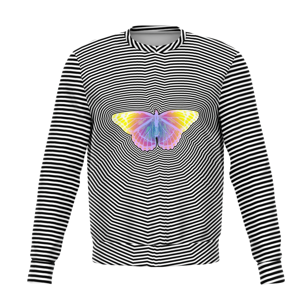 Trippy Butterfly Sweatshirt
