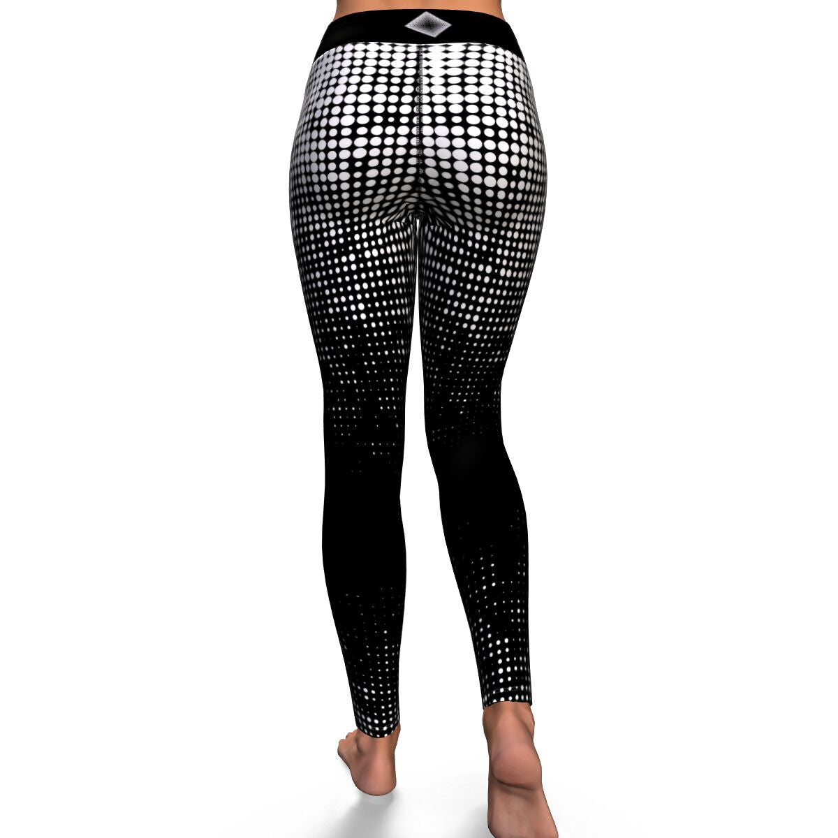 Dot Illusion Yoga Pants