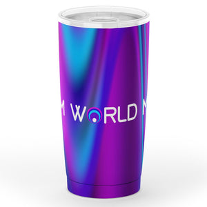 Blurred Dream EDM World Mag Tumbler