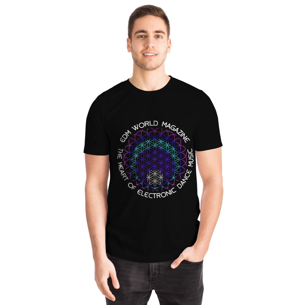 Flower of Life Laser Show Tee