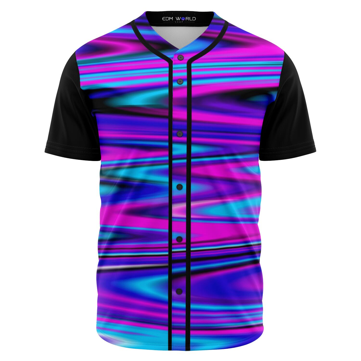 Blurred Dream Front Baseball Jersey