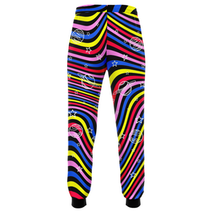 Trippy Cosmic Joggers