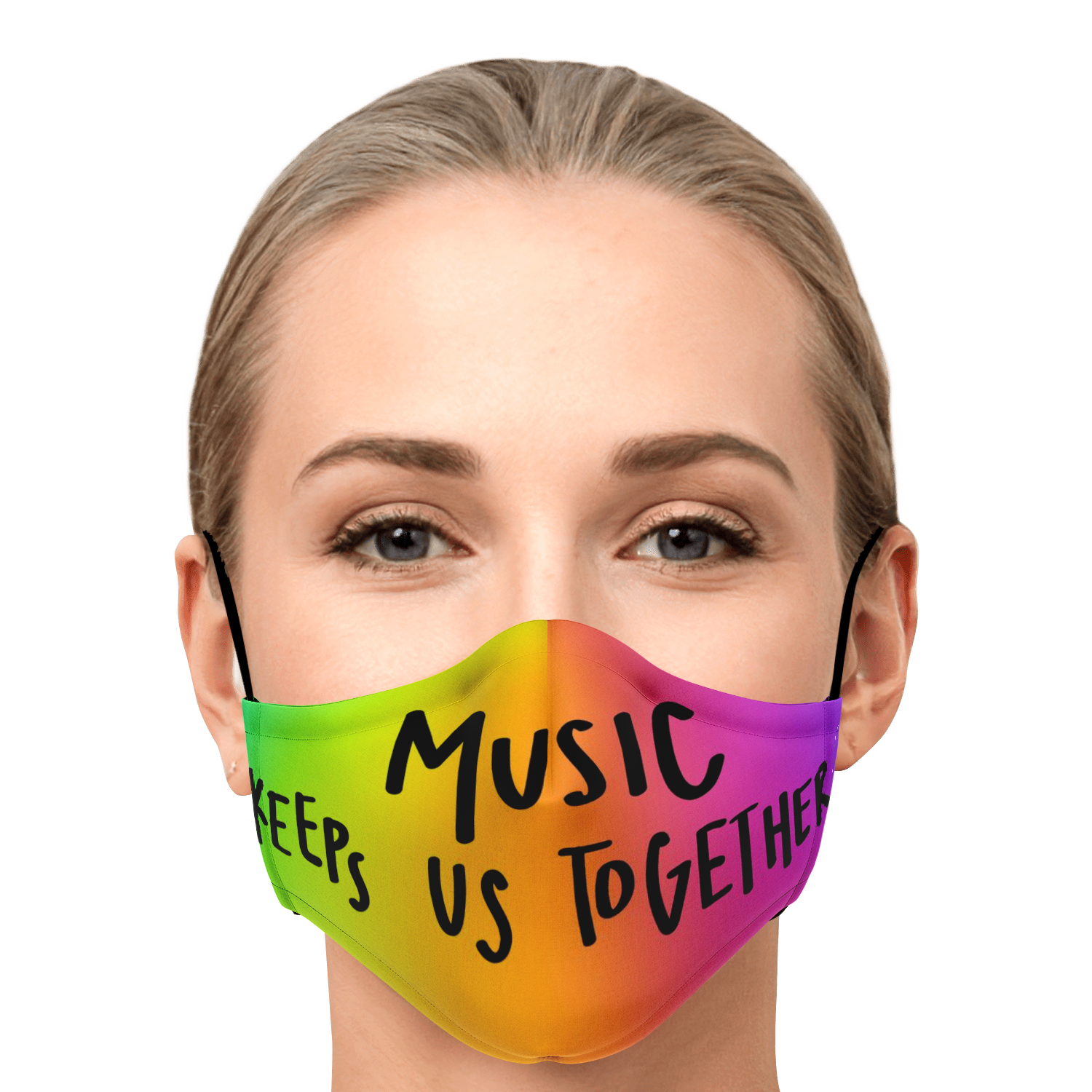 Music Keeps Us Together Face Mask