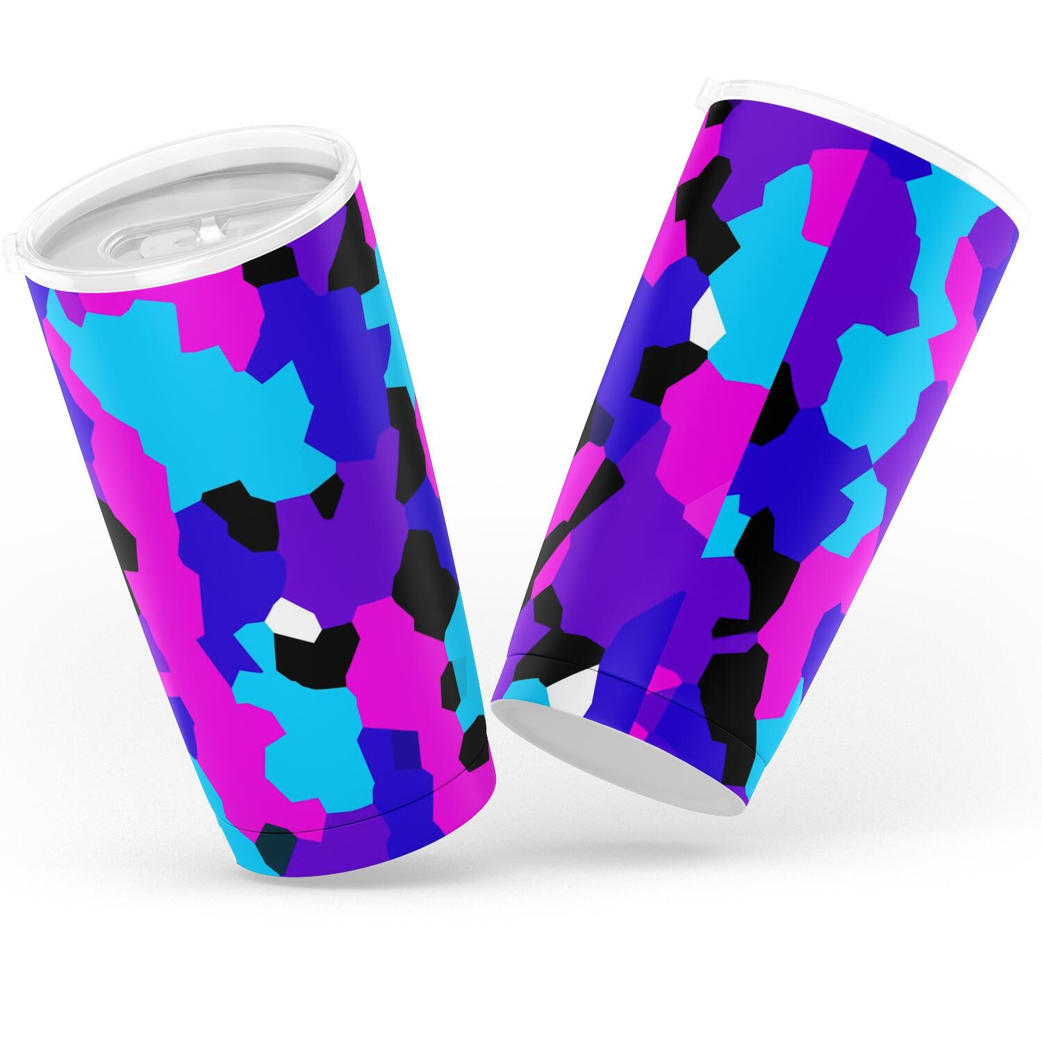 Color Pop Camo Tumbler