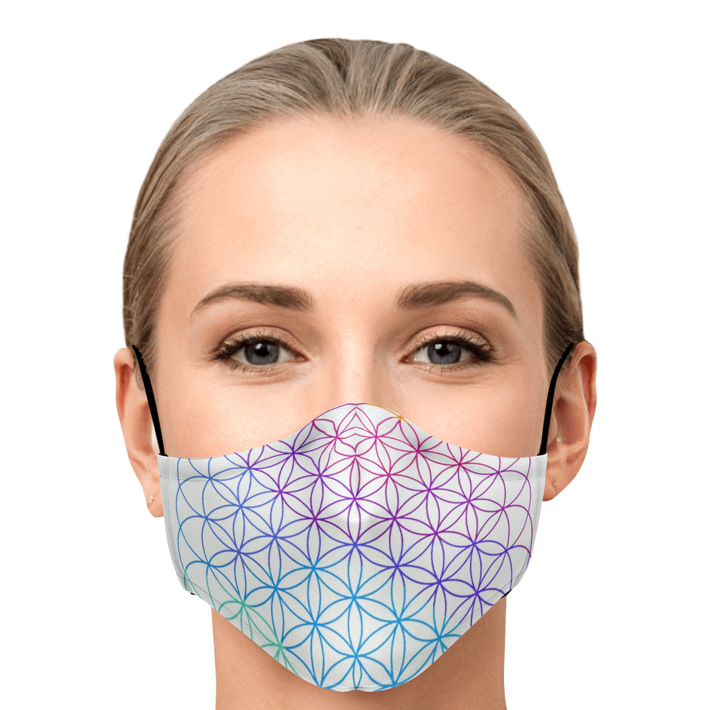Flower Of Life Mask
