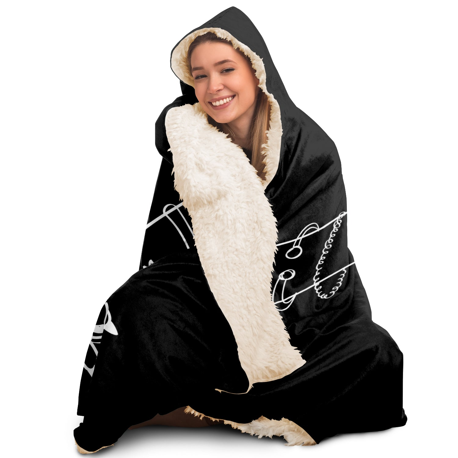EDM Hooded Blanket