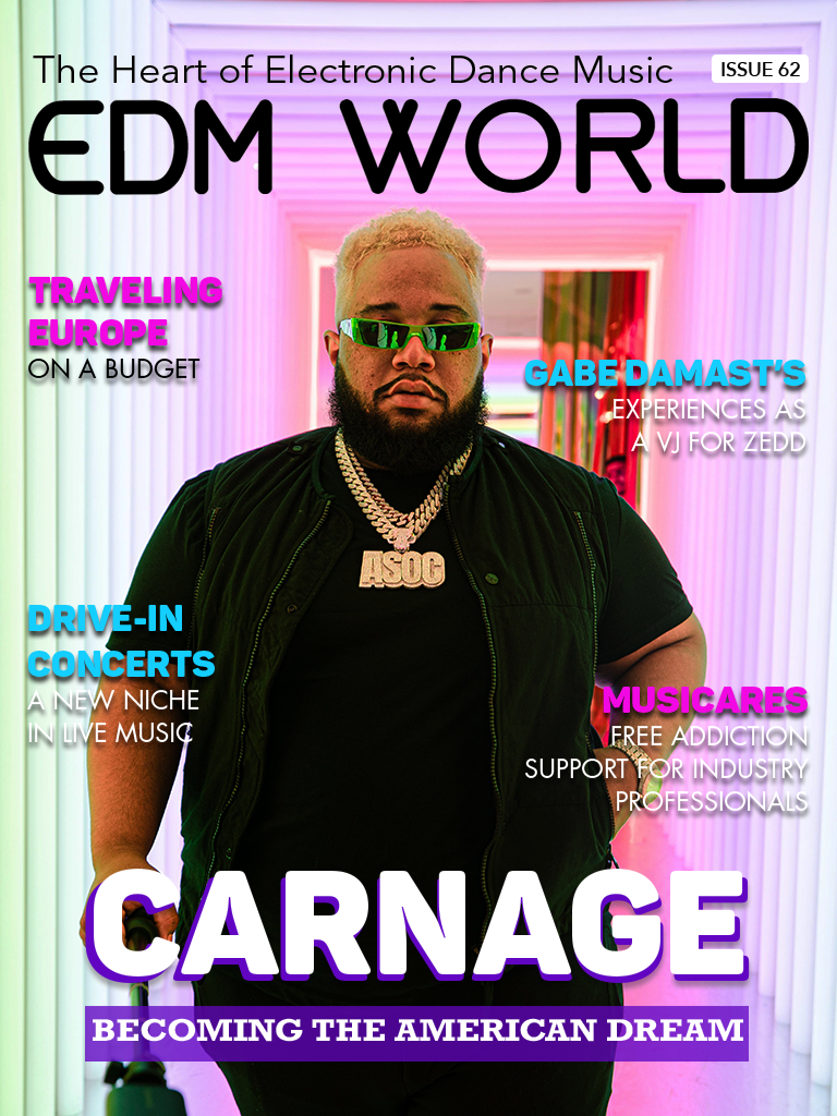 Issue 62 - Carnage - EDM World Magazine