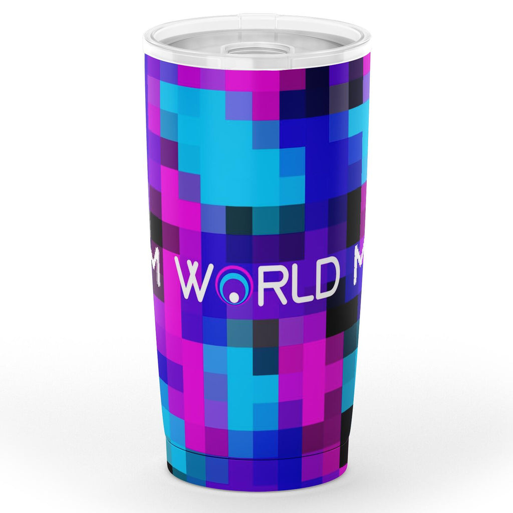 Color Pop Pixel Tumbler
