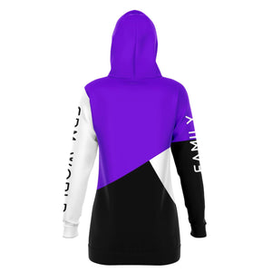 Purple EDM World Long Hoodie