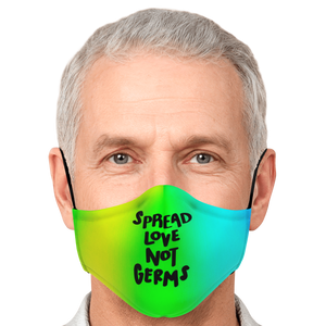 Spread Love Not Germs Mask