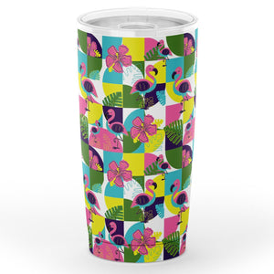 Lost in the Tropics Tumbler