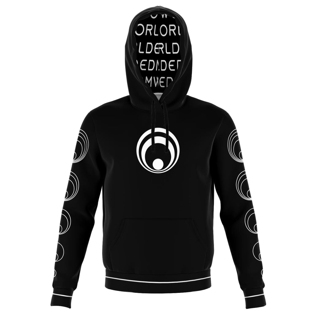 Black & White EDM World Hoodie