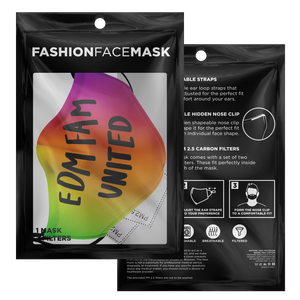 United Fam Electronic Dance Music Face Mask