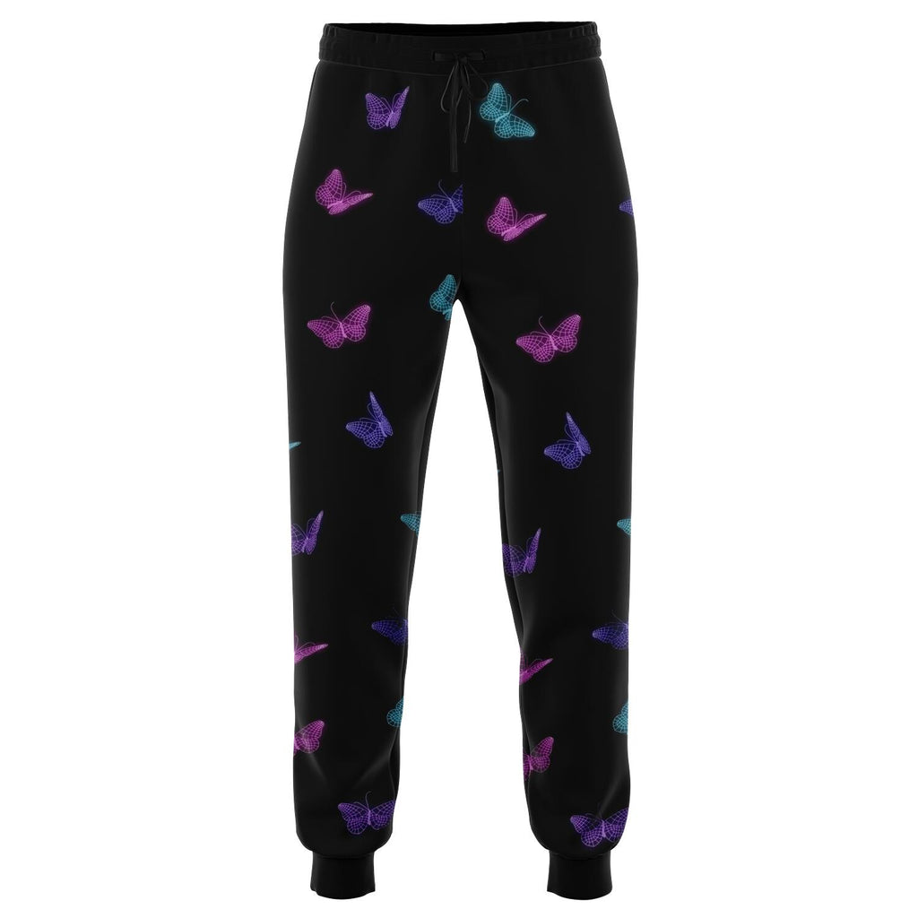 Optical Illusion Butterfly Front Joggers
