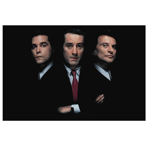 Goodfellas Framed Canvas Wall Hanging Picture | Movie Poster DeNiro Joe Pesci Gangster Film