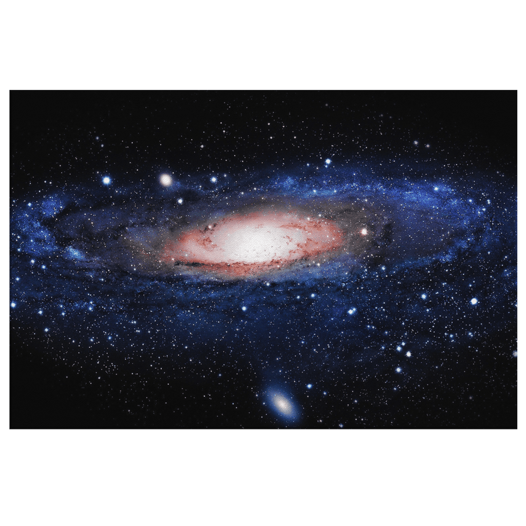 Deep Space Galaxy Andromeda Milky Way Cosmic Photo Print on Framed Canvas Wall Art Decor
