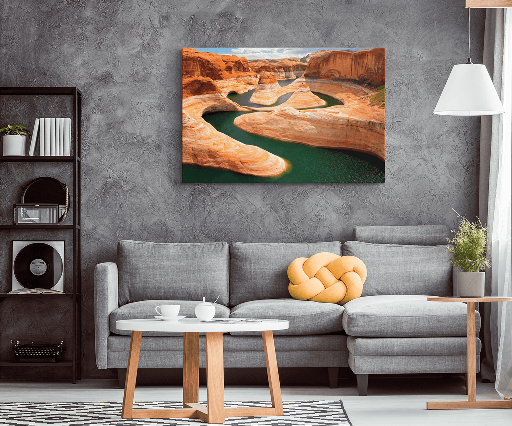 Glen Canyon Utah Arizona Framed Canvas Photo Print