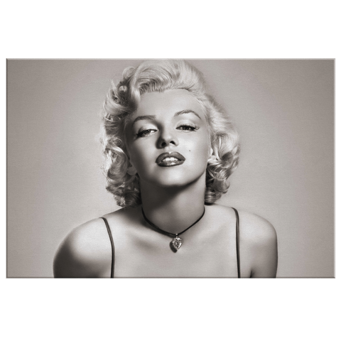 Marilyn Monroe Photo Print on Framed Canvas Wall Art | Classic Hollywood Actress