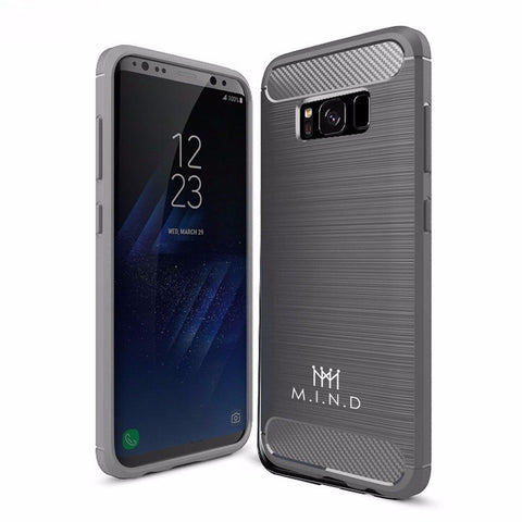Mindful Gray Galaxy S8 Case