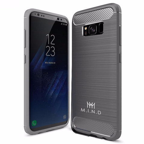 Mindful Gray Galaxy S8+ Case