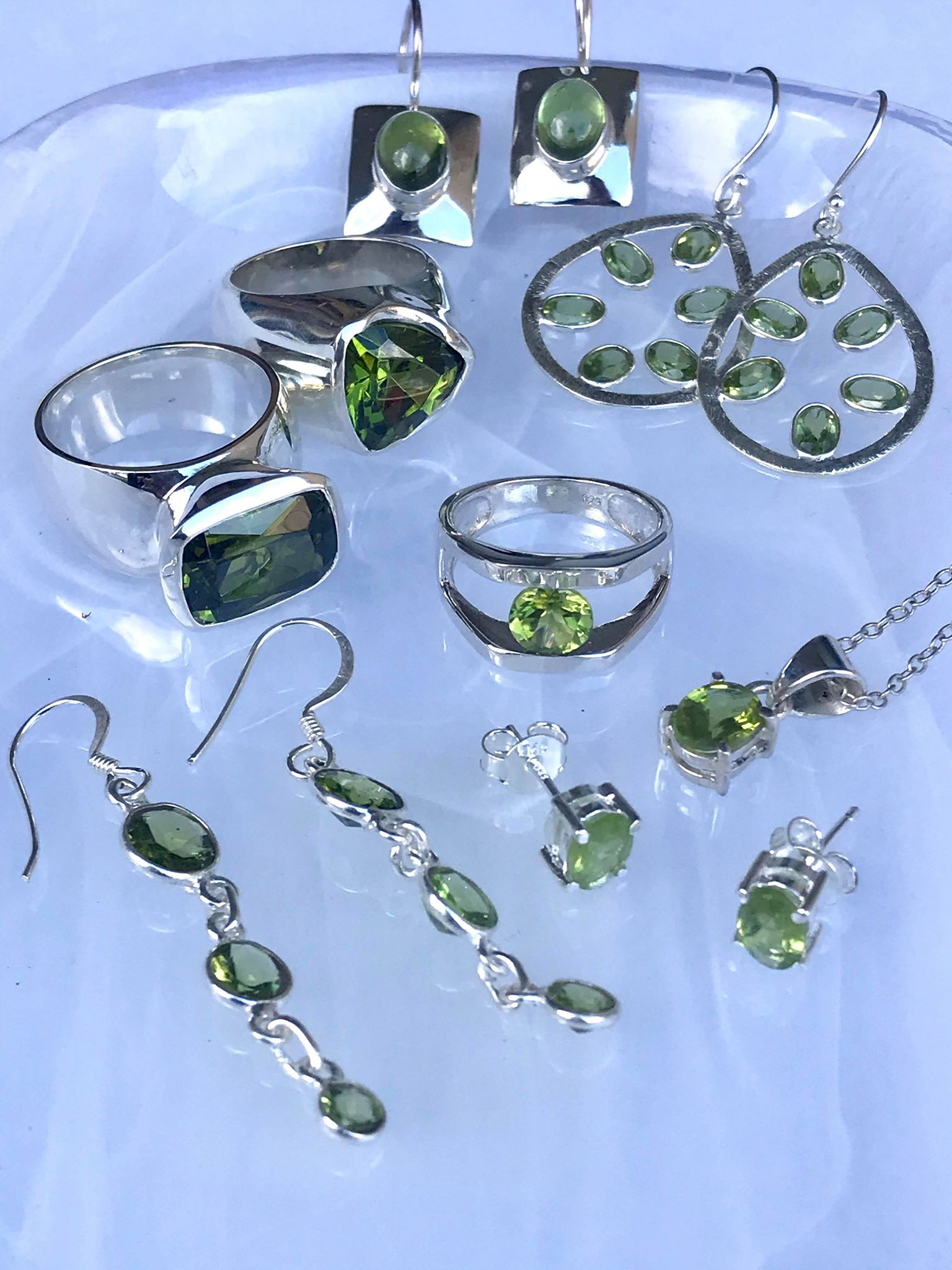 Peridot Jewellery | Desiderate