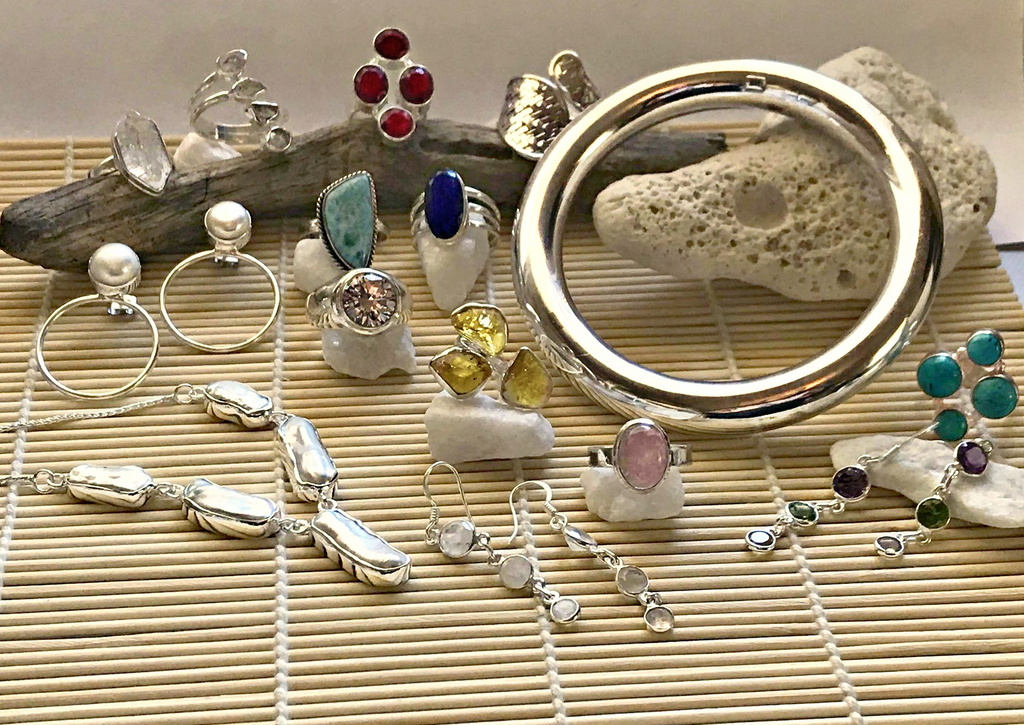 Sterling Silver and Gemstone Jewellery