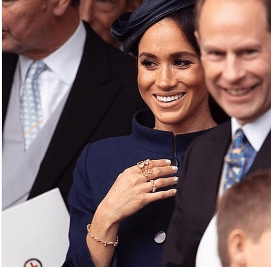 Meghan Markle wears Herkimer Diamonds