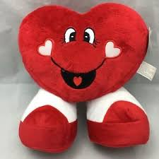 cheesy valentines plush toy