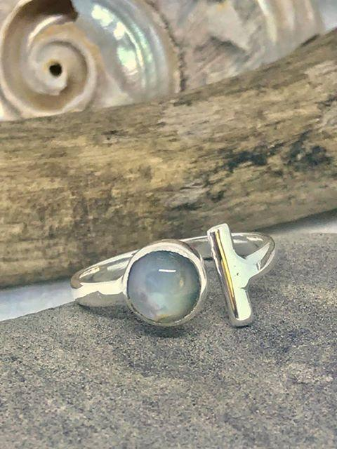 Stop It Moonstone Ring | Desiderate Jewellery
