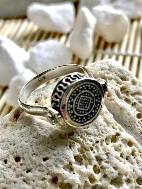 Tribal Soul Sterling Silver Spin Ring | Desiderate Jewellery