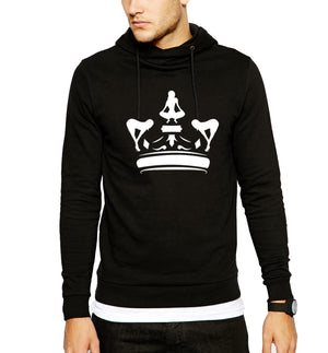 Black & White Puta Kings Hoodie