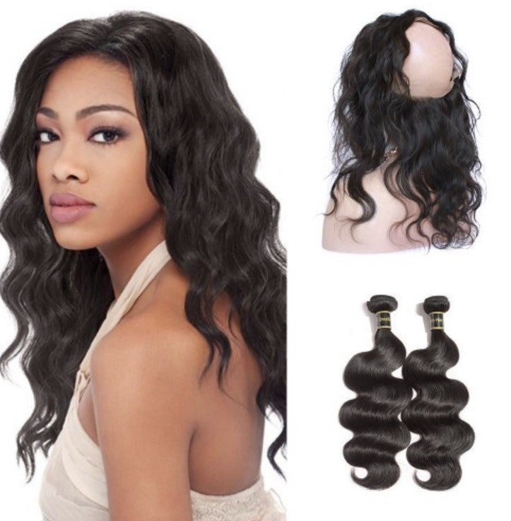 Virgin Body Wave 360 Lace Wigs