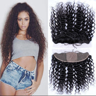 Virgin Deep Wave 13*4 Frontal