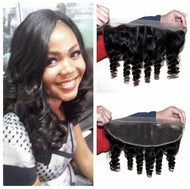 Virgin Loose Wave 13*4 Frontal