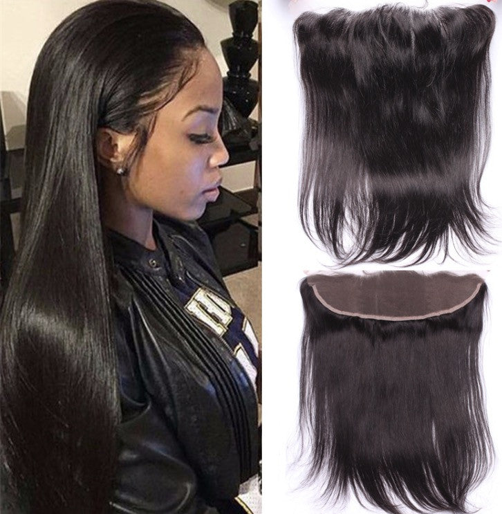 Virgin Silky Straight 13*4 Frontal