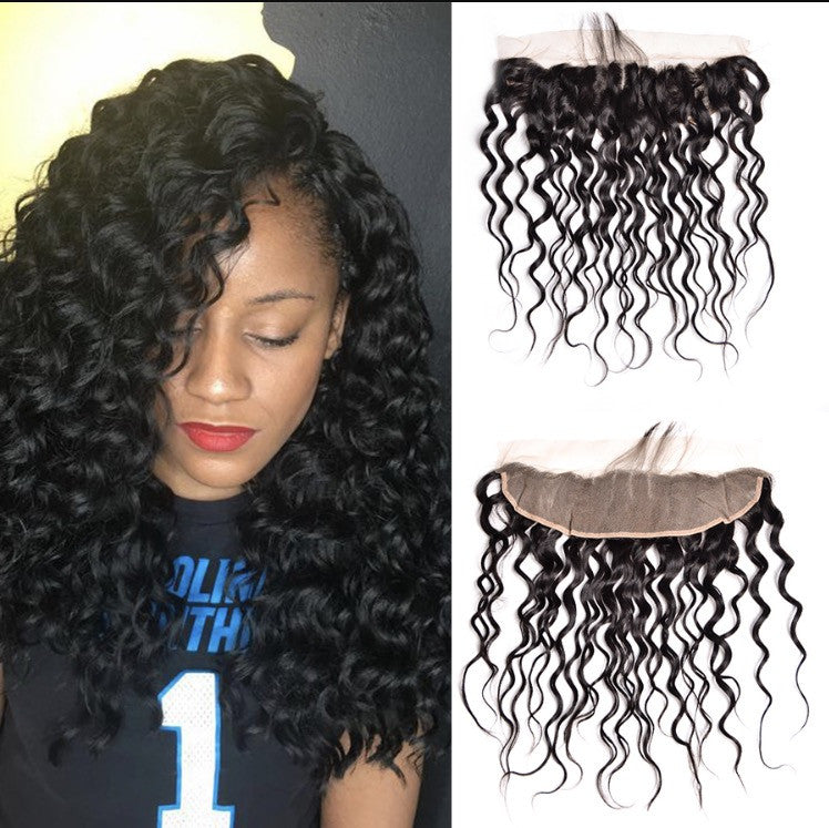 Virgin Natural Wave 13*4 Frontal
