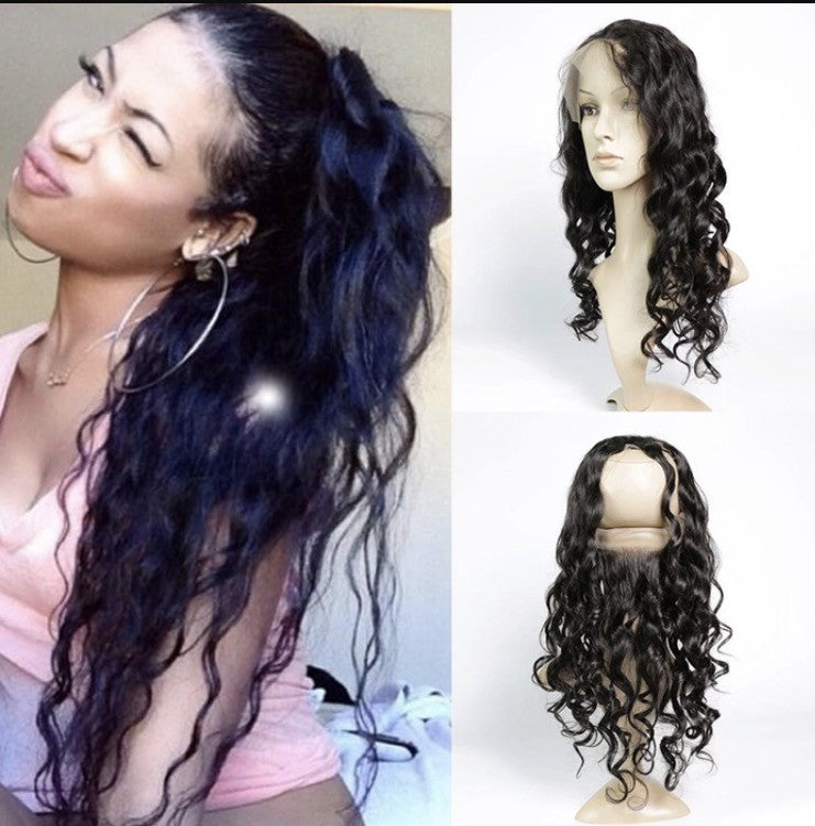 Virgin Natural Wave 360 Lace