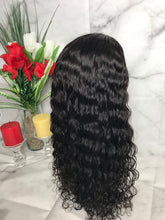 Peruvian Curly Lace Front Custom Unit