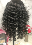Peruvian Loose Wave Lace Front Custom Unit