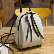 Load image into Gallery viewer, Mini Super Sturdy Vegan Leather Backpack Purse