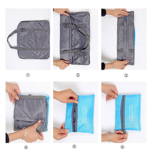 VB Waterproof Foldable Super Lightweight Travel Carry-On Bag