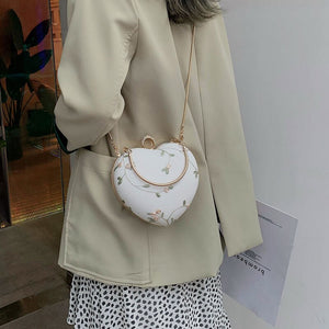 Enchanted Flower Heart Clutch