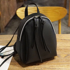Mini Super Sturdy Vegan Leather Backpack Purse