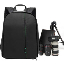 Load image into Gallery viewer, Padded DSLR Camera Backpack