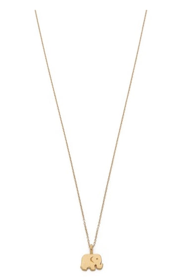 Cute simple elephant necklace gold or silver good luck pendant cute simple elephant necklace gold or silver good luck pendant spirit animal necklace aloadofball Choice Image
