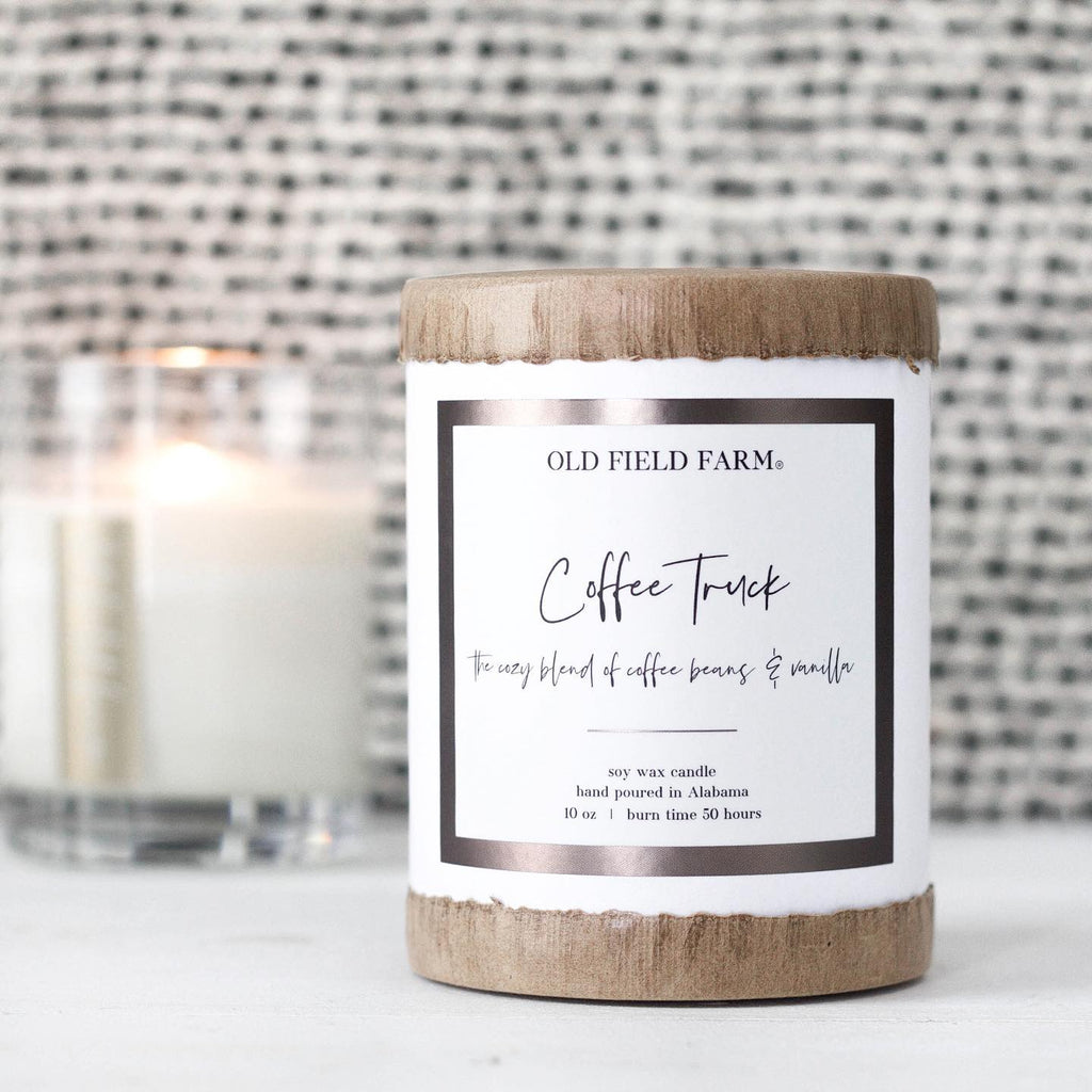 Old Field Farm Coffee Truck Candle